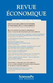 "New Publication: ""Analyse statistique des affaires d'ententes dans l'UE (2004-2014)"""