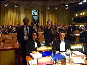 LCII team ranks 2nd Best AG and 3rd Best Team at the EU Law Moot Court.